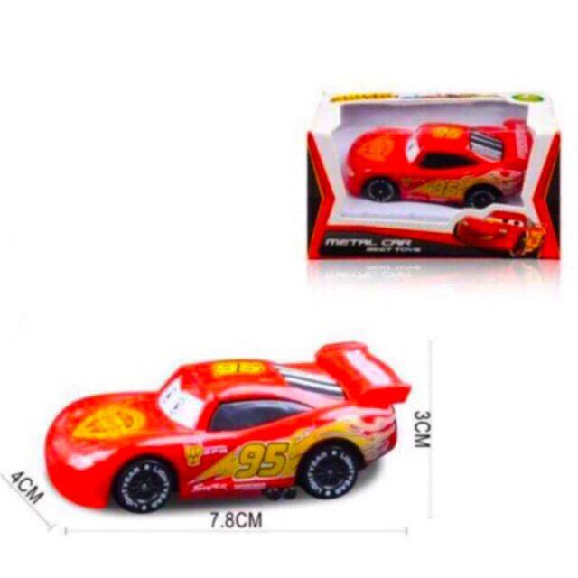Lightning McQueen Metal Car Buy 1 Take 1 image on snachetto.com