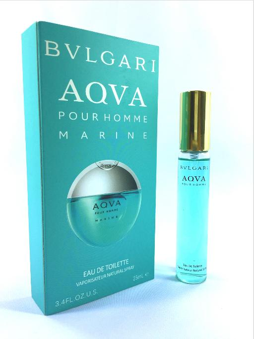 Bvlgari Aqva Marine Pour Homme Eau de Toilette for Men Travel Size  - 25ml - thumbnail