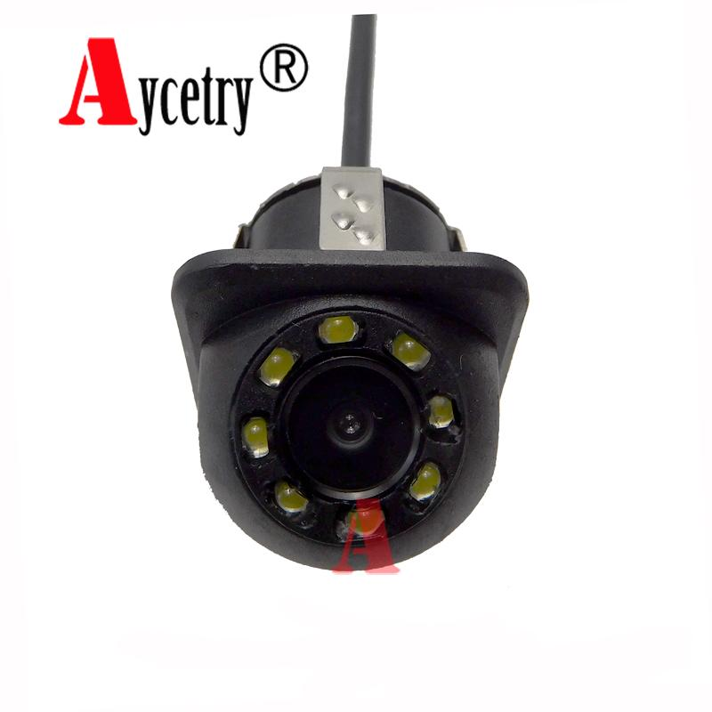 Aycetry!! Universal 8 Lights CCD HD color Waterproof car Rear View Camera Wide Angle buckup Night Vision Parking Camera - intl