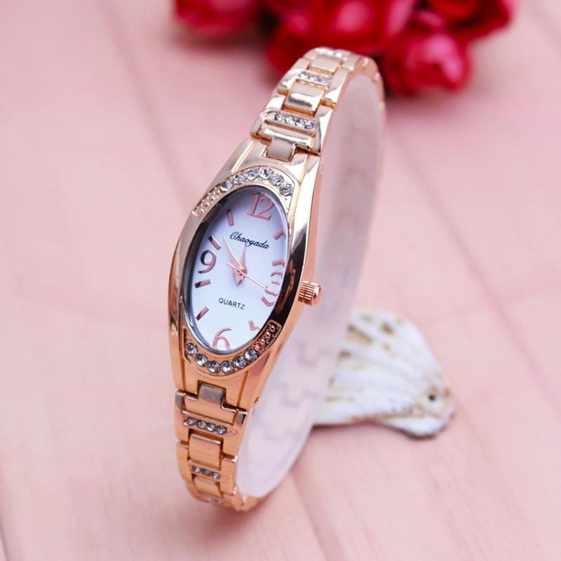 Fashion Diamond Set Ladies' watch watches Simple girl women Quartz Waterproof Electronic Bracelet watch watches Versatile Accessories watch watches