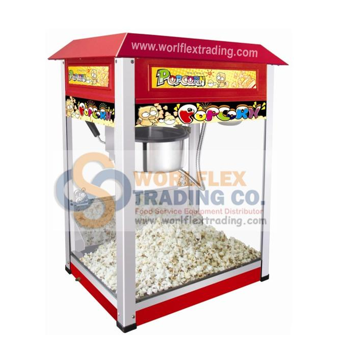 Popcorn Machine Commercial
