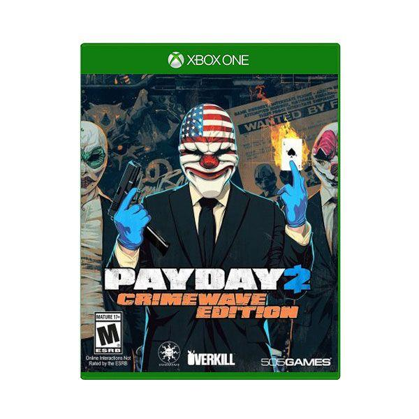 Xbox One Payday 2 Crimewave Edition