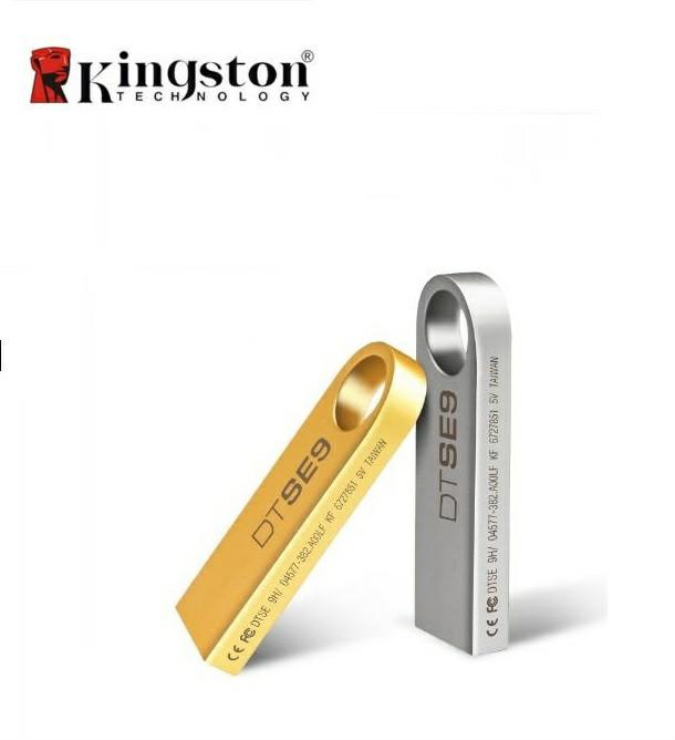 Kingston Data Transfer Usb 2.0 Metal Flash Pen Drive U Disk External Storage Memory Stick By Relax Life Shop.