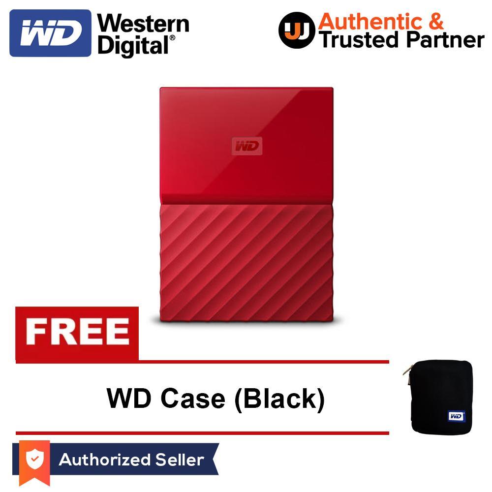 Wd My Passport 1tb Usb 30 Portable External Hard Drive Black Ultra Hd Lazada Ph