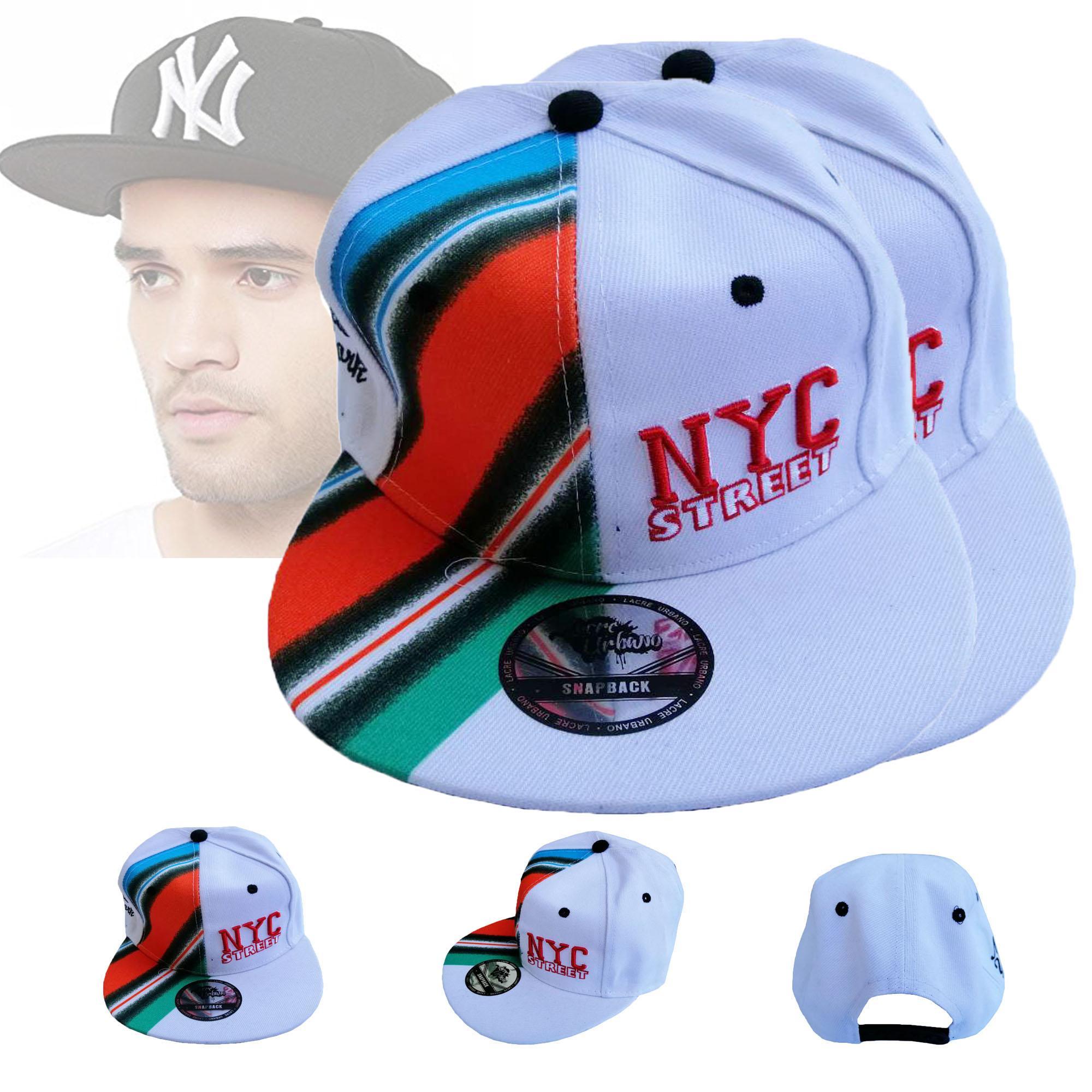5bd5ff83c Buy 1 Take 1 Fashion Snapback Hats Adjustable Street Skateboard Hip Hop  Baseball Cap Falt Hat For Men And Women