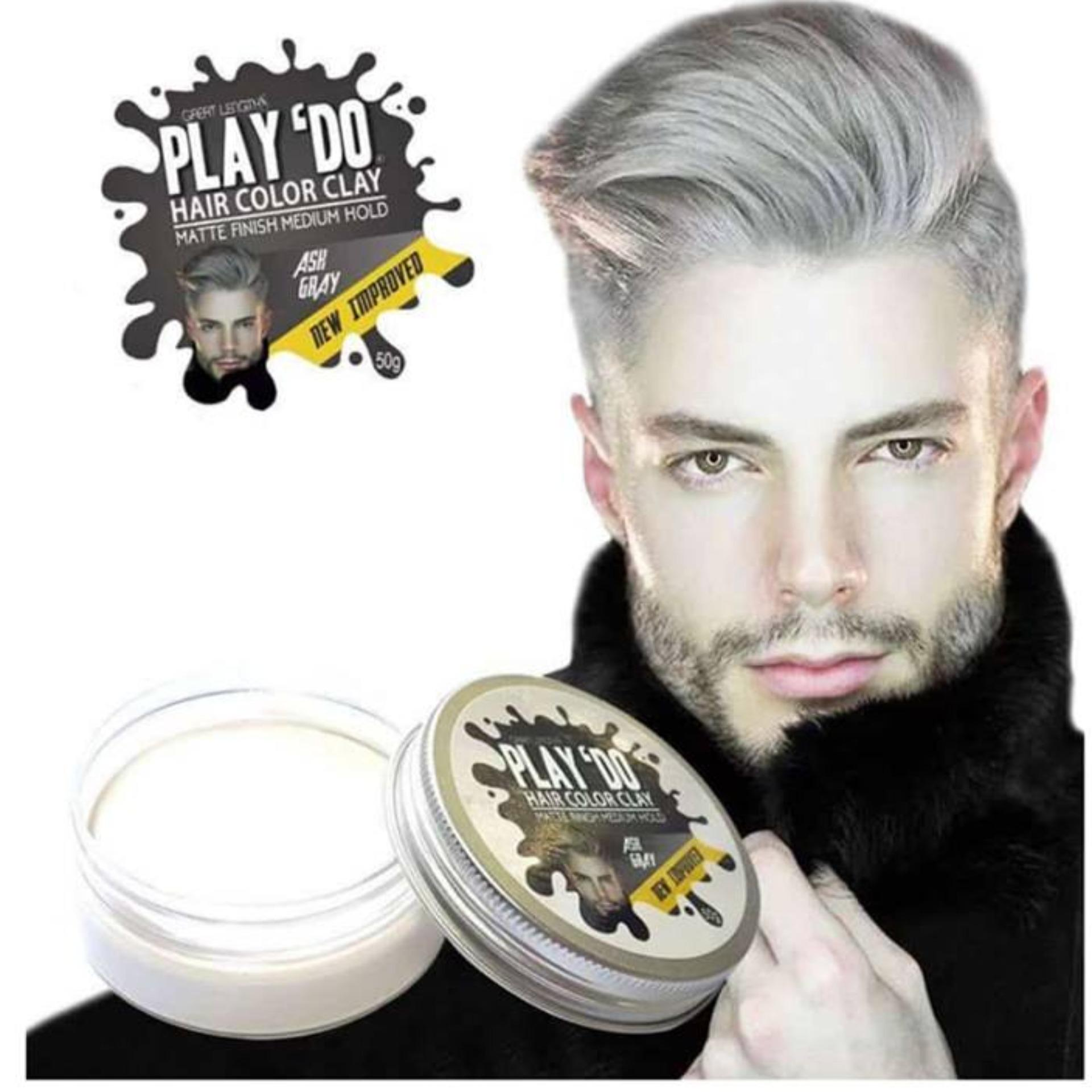 Play 'Do Hair Color Clay Ash Gray ( New Improved ) image