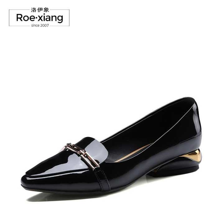 Men's/Women's~Loafers simple New style leather women's shoes shoes shoes pointed toe pumps shoes ~Outstanding Characteristics 1c09aa