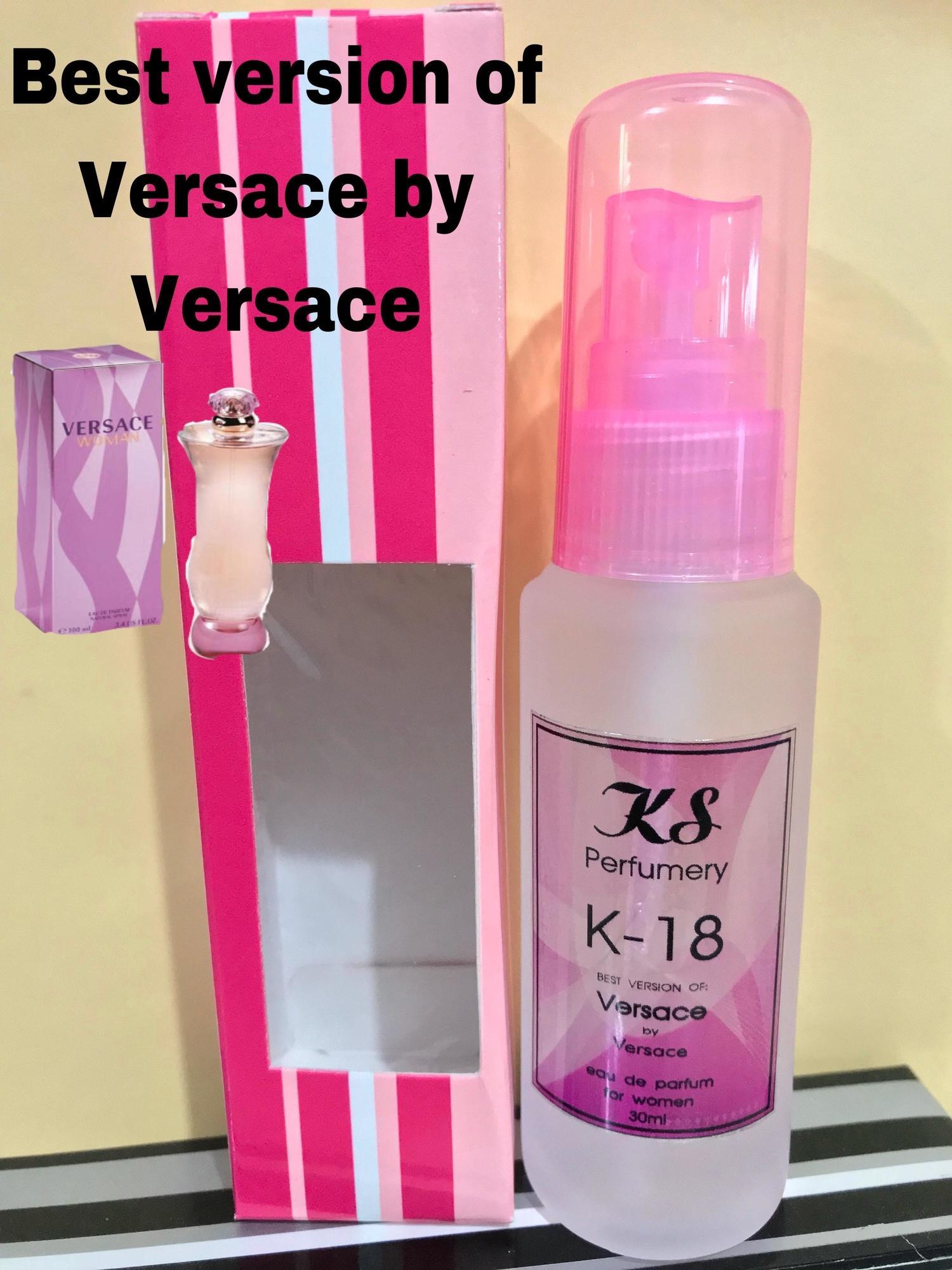 KS Perfumery Code: K-18 Best version of Versace by Versace 15% oil