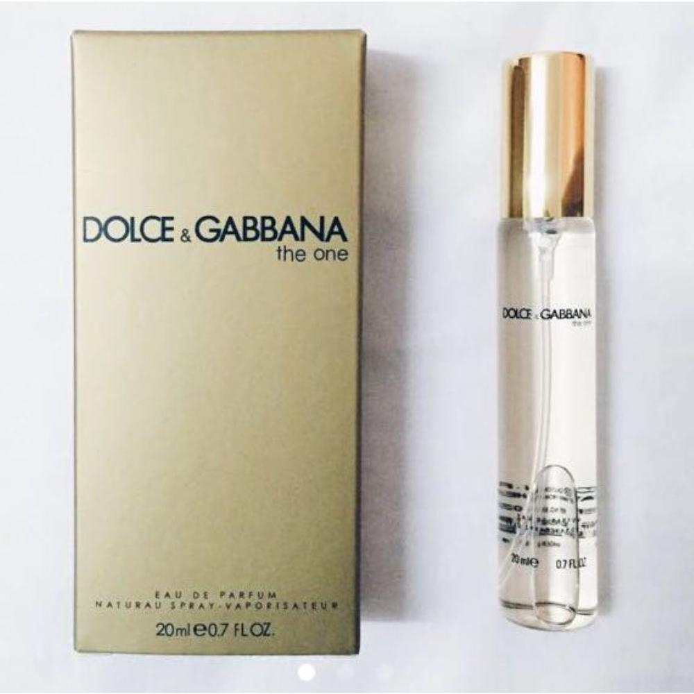 Dolce & Gabbana The One EDT Women Travel Size 20ml