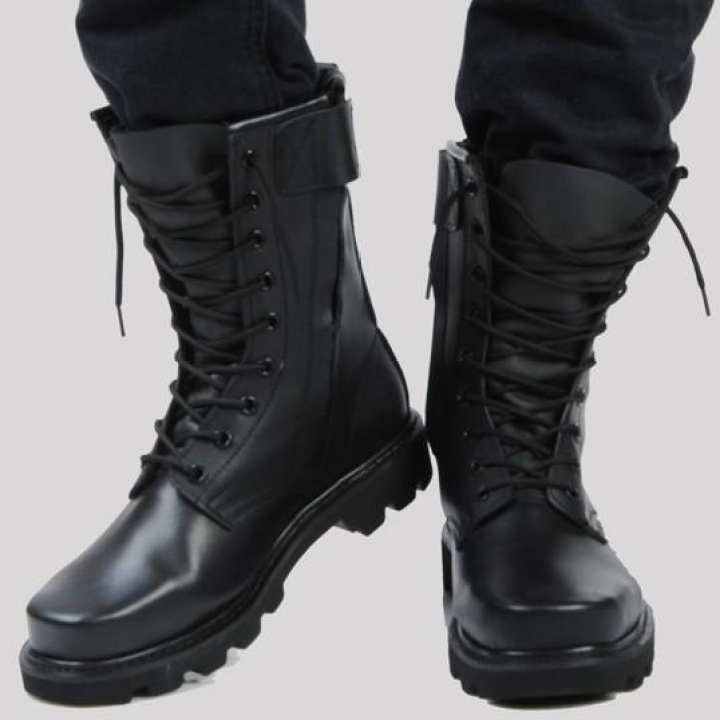 Product Cowhide Combat Boots man the special arms Combat Boots Steel Top  Steel the End of Martin Boots Men Leather Boots Men\u0027s Boot