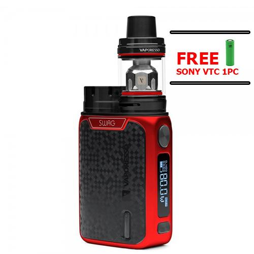 Legit Vaporesso Swag Kit(RED) w/ free sony