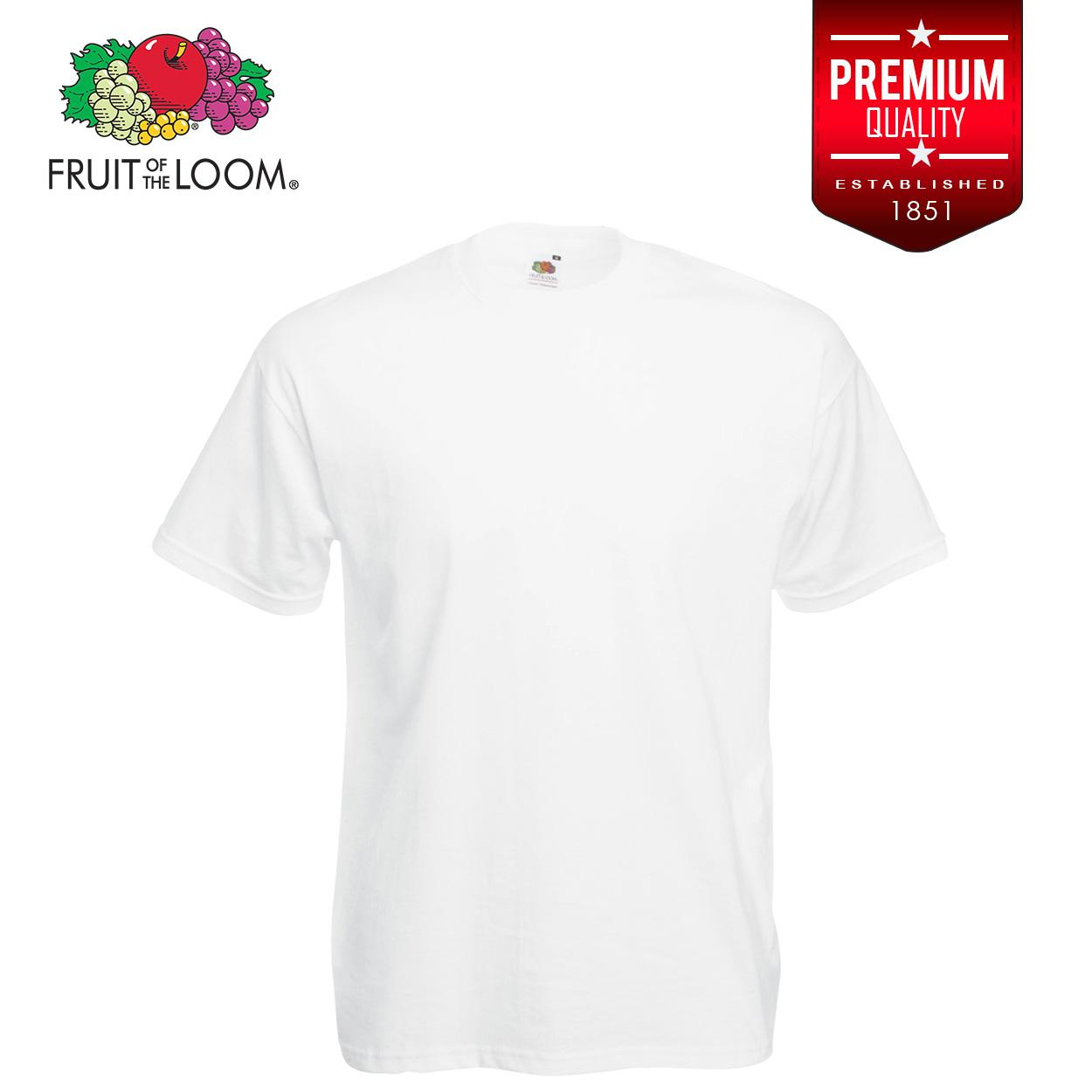 79abe5611ef7 Product details of Fruit of the Loom Soft Premium T Shirt tshirt plain tee  tees Mens t shirt shirts for men tshirts t-shirts sale plain top White