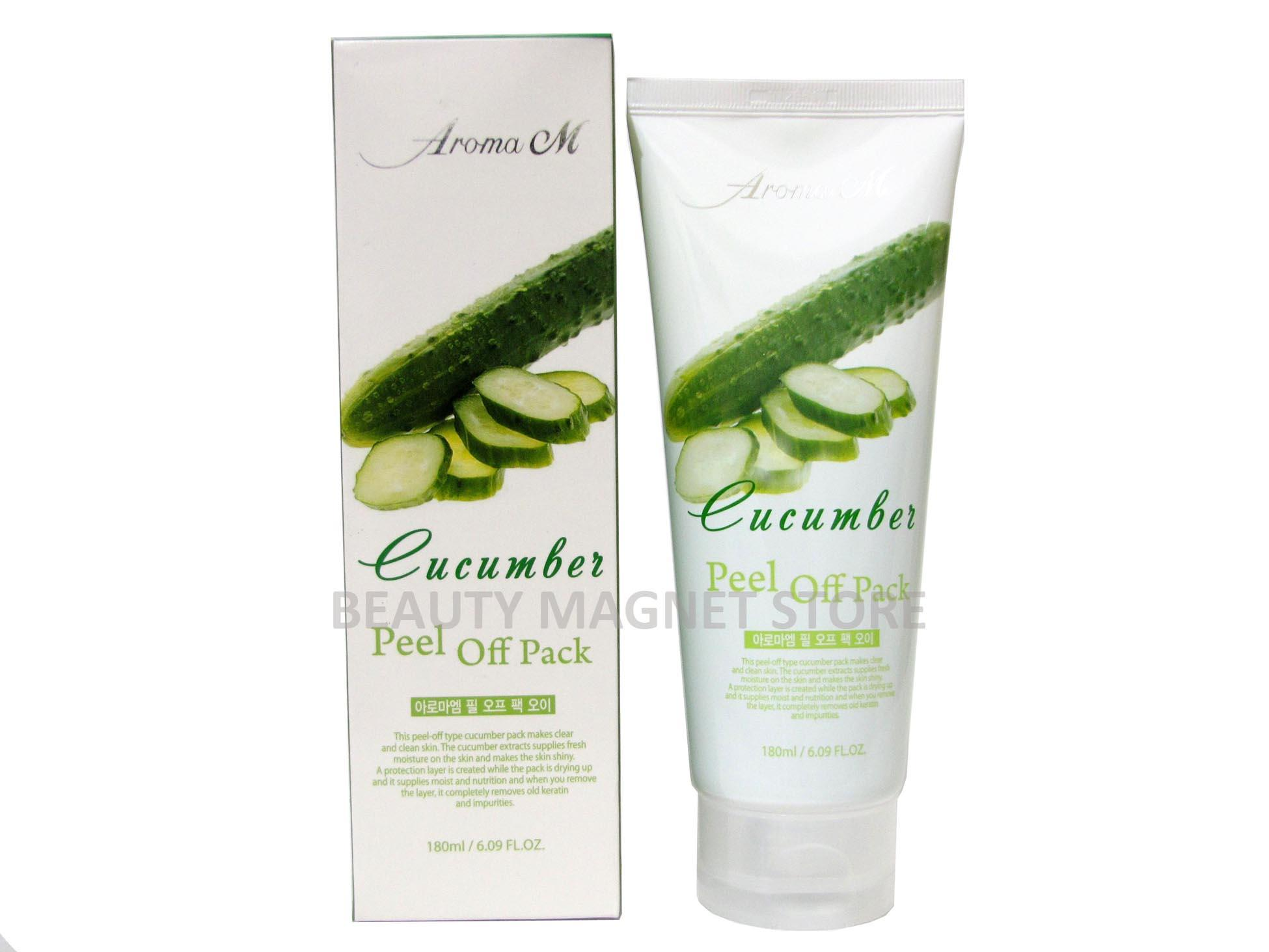 Aroma M Cucumber Peel Off Pack 180ml