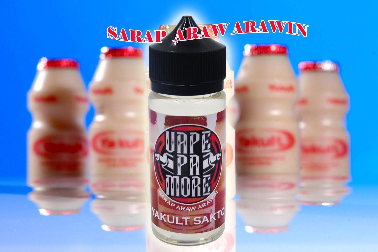 VAPE PA MORE 100ML YACULT SAKTO 4MG
