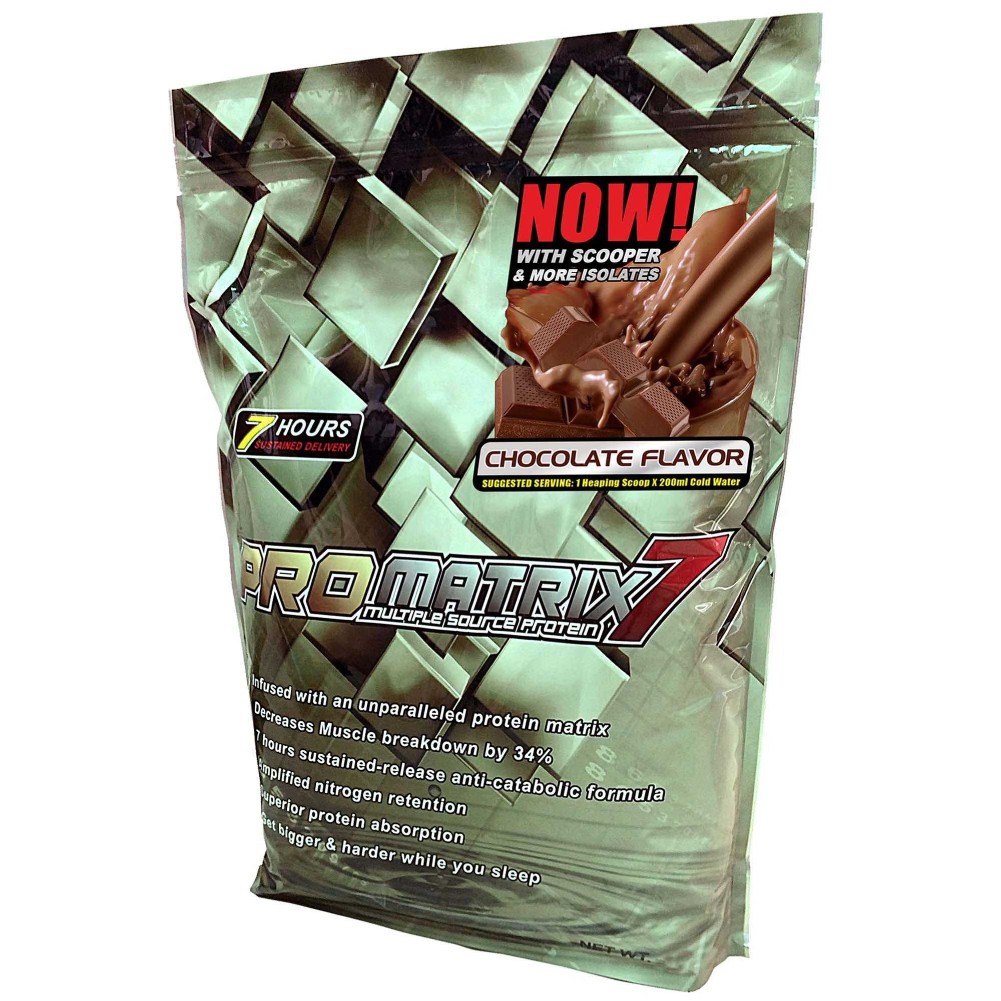 ProMatrix 7 Multiple Source Protein 5lbs (Chocolate) product preview, discount at cheapest price