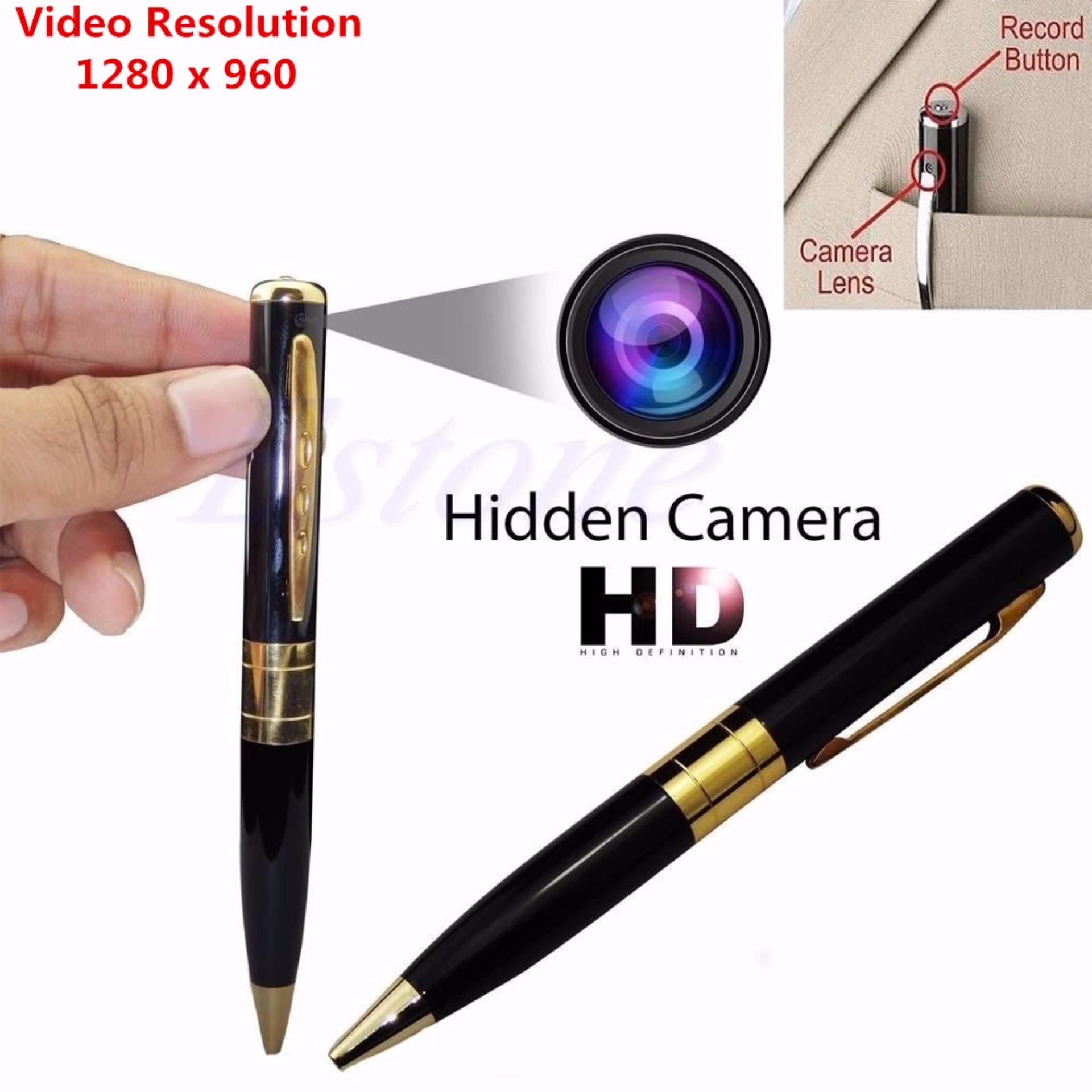 LGDS Black Mini HD USB DV Camera Pen Recorder Security DVR Cam Video 1280x96 for Monitoring and Capturing Any Situation - intl