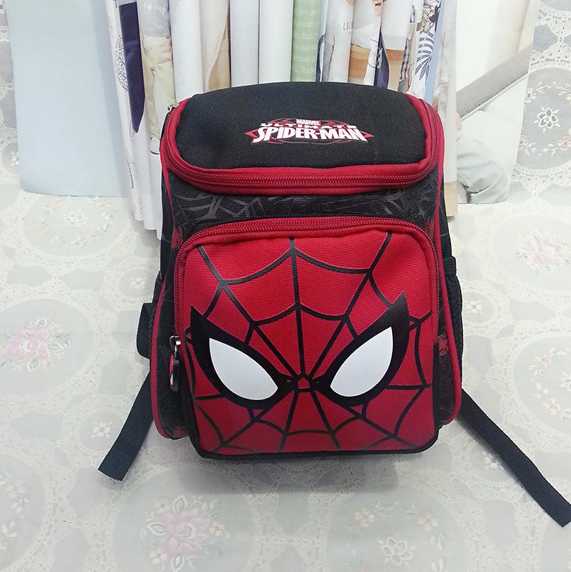 New Arrivals Hot Cartoon Spider Backpacks For Kids Children School Bags Primary Backpack Boy mochila