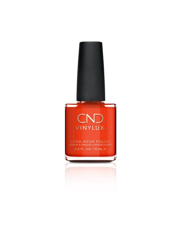 CND Vinylux #112 Electric Orange 15ml