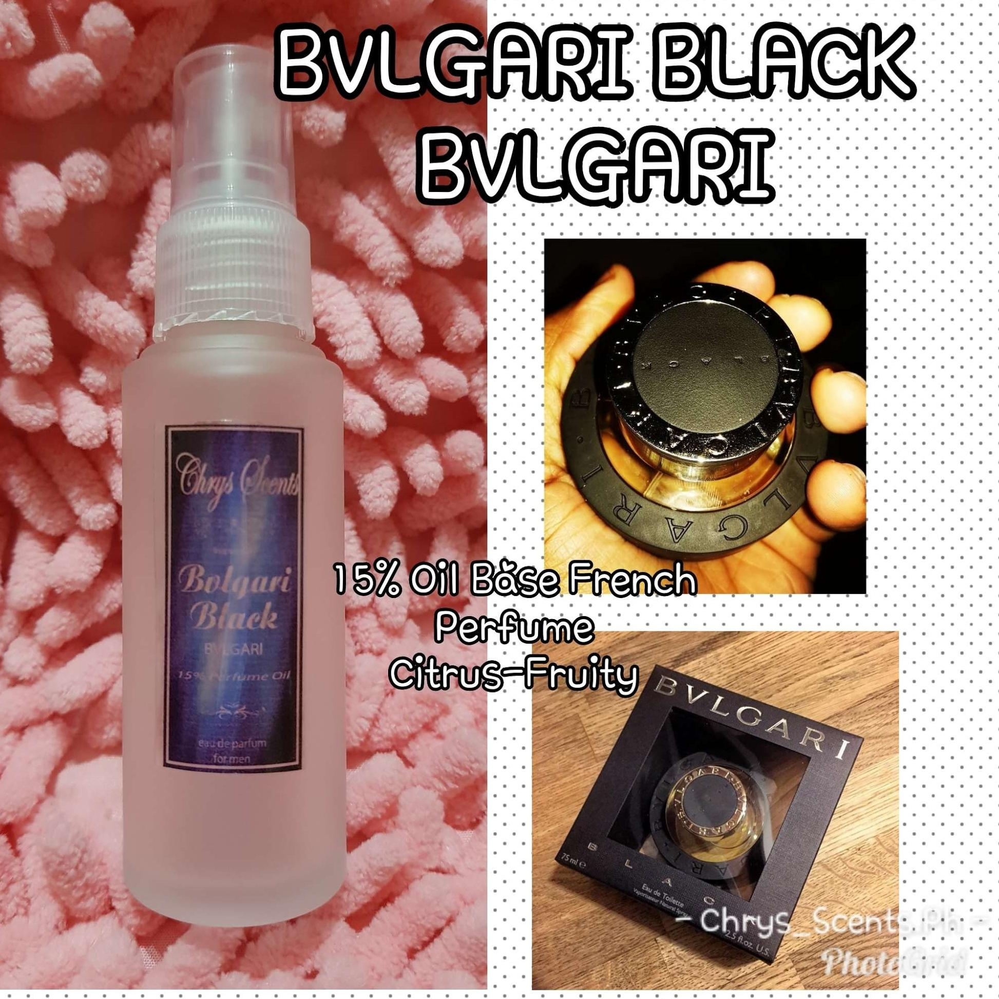 BVLGARI BLACK by BVLGARI Inspired Oil Base French Perfume 50ml