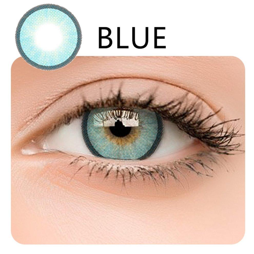 POPO 2PCS/SET Big Eye Enlarge Eyes Makeup Cosmetic Big Eye Coloured Contact Lenses