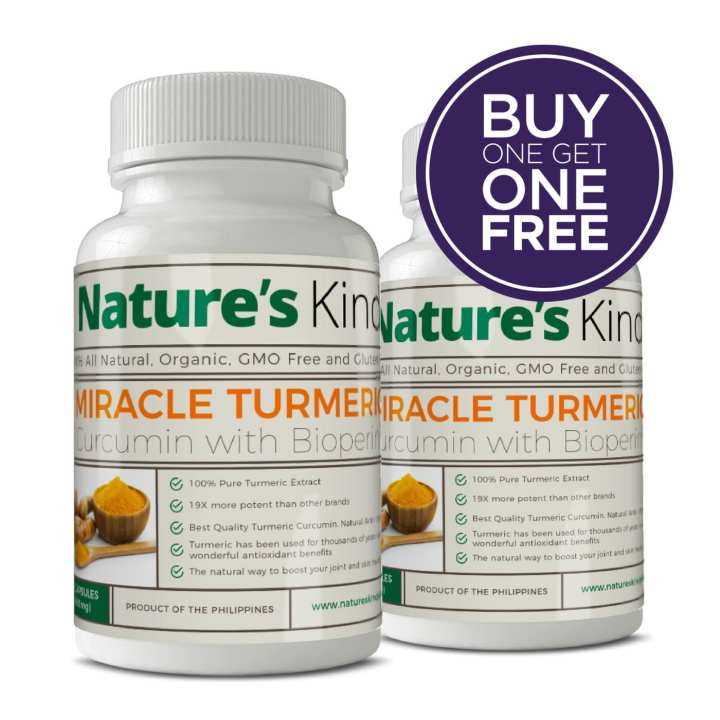 Organic Turmeric Capsules (Highest Potency with Pepper