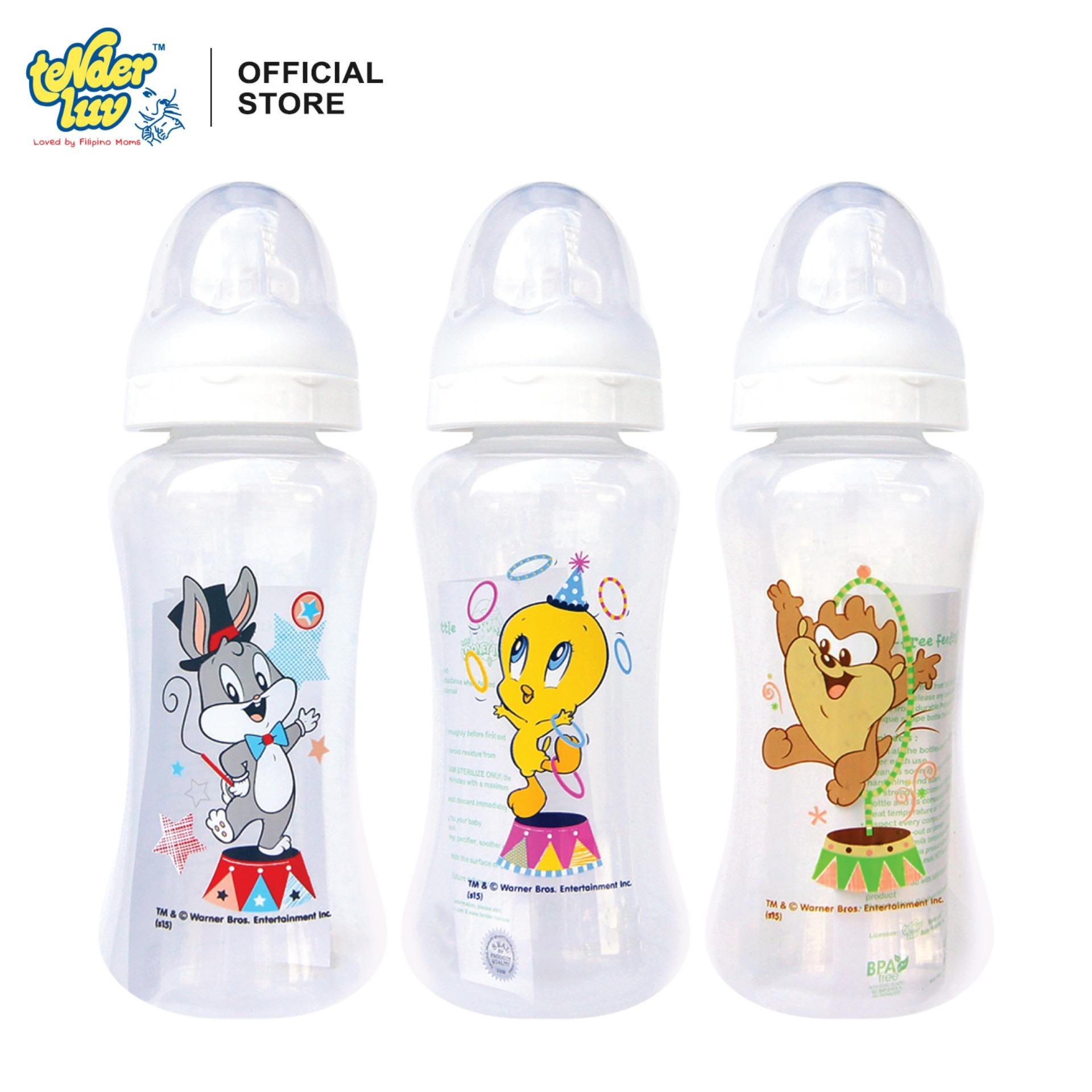 Looney Tunes 10oz Streamline Feeding Bottles (Set of 3)