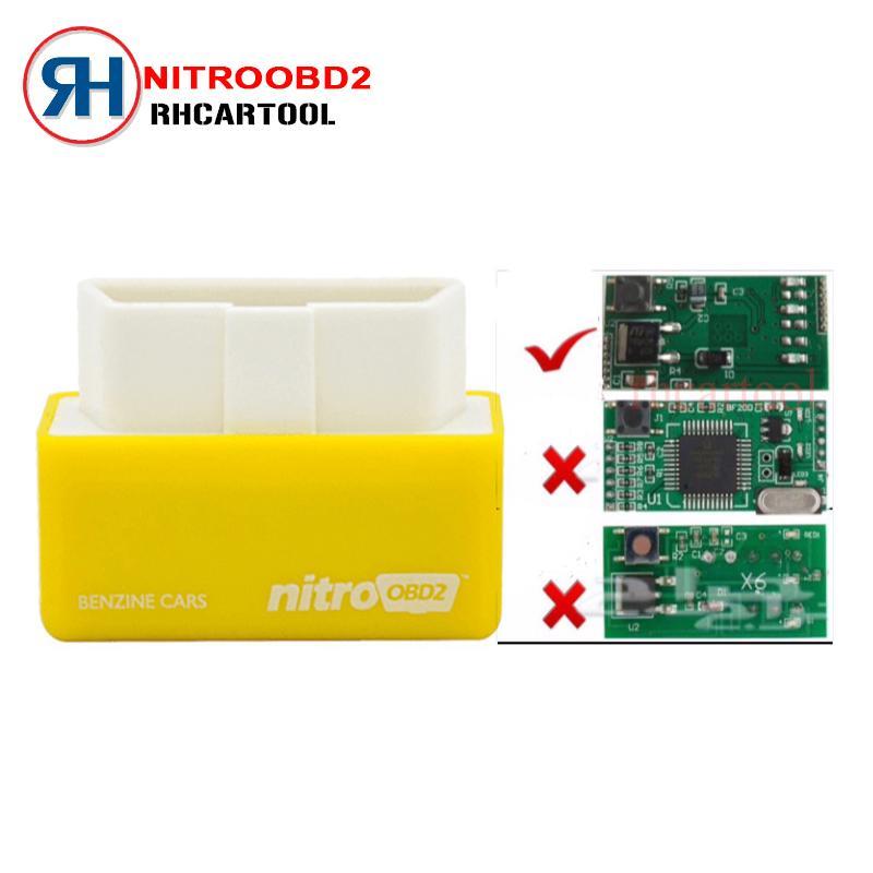Nitro OBD2 For Petrol Car Chip Performance Tuning Plug & Play Auto ECU  Remap (Benzine Cars) - intl