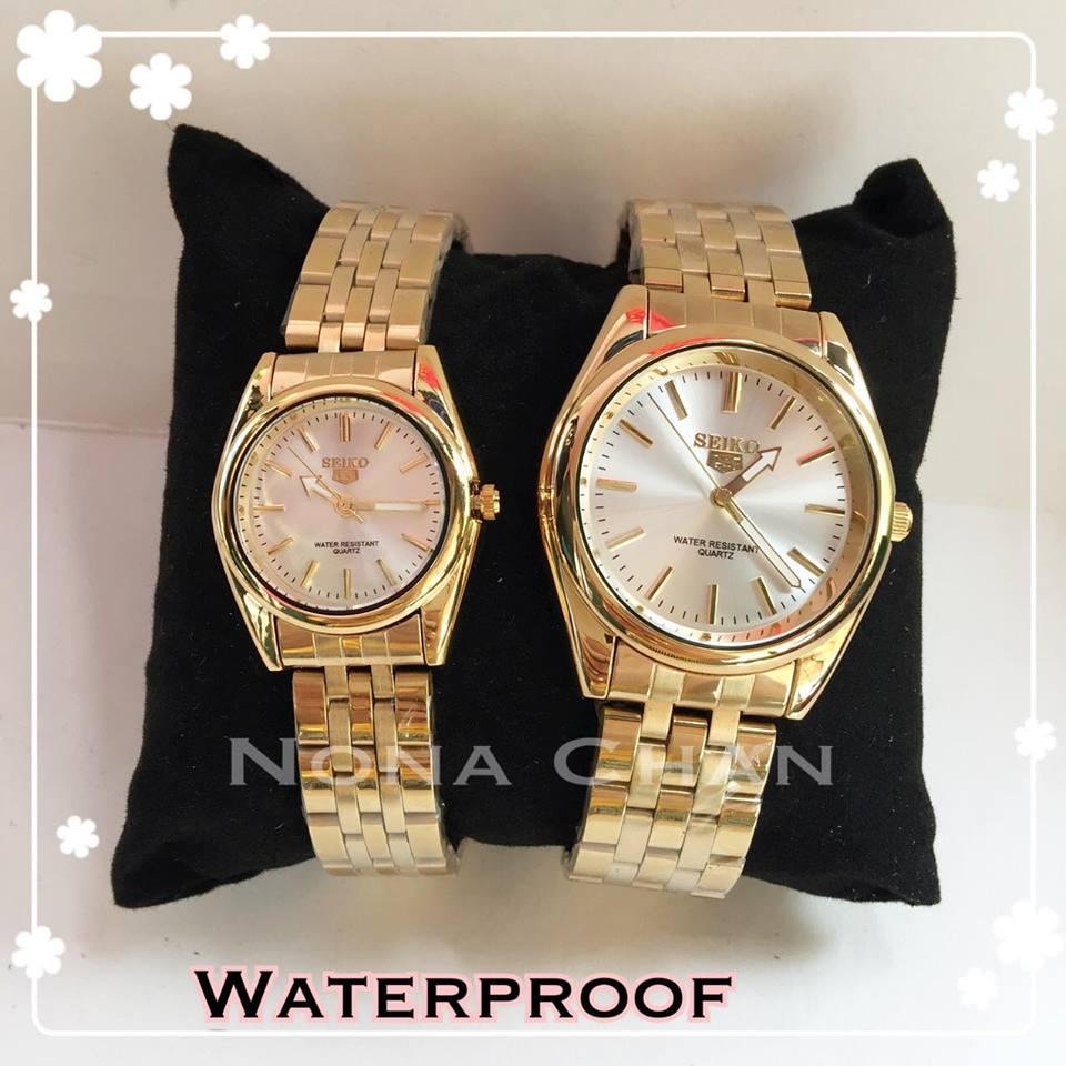 Sale Now!! Seiko5 Couple Watch Stainless Waterproof