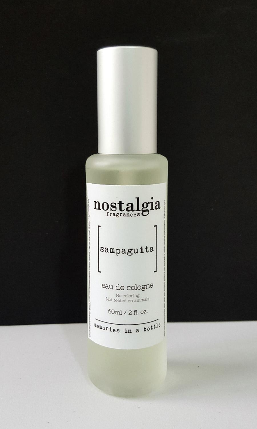 Nostalgia Fragrances Eau de Cologne Sampaguita 60ml with Box