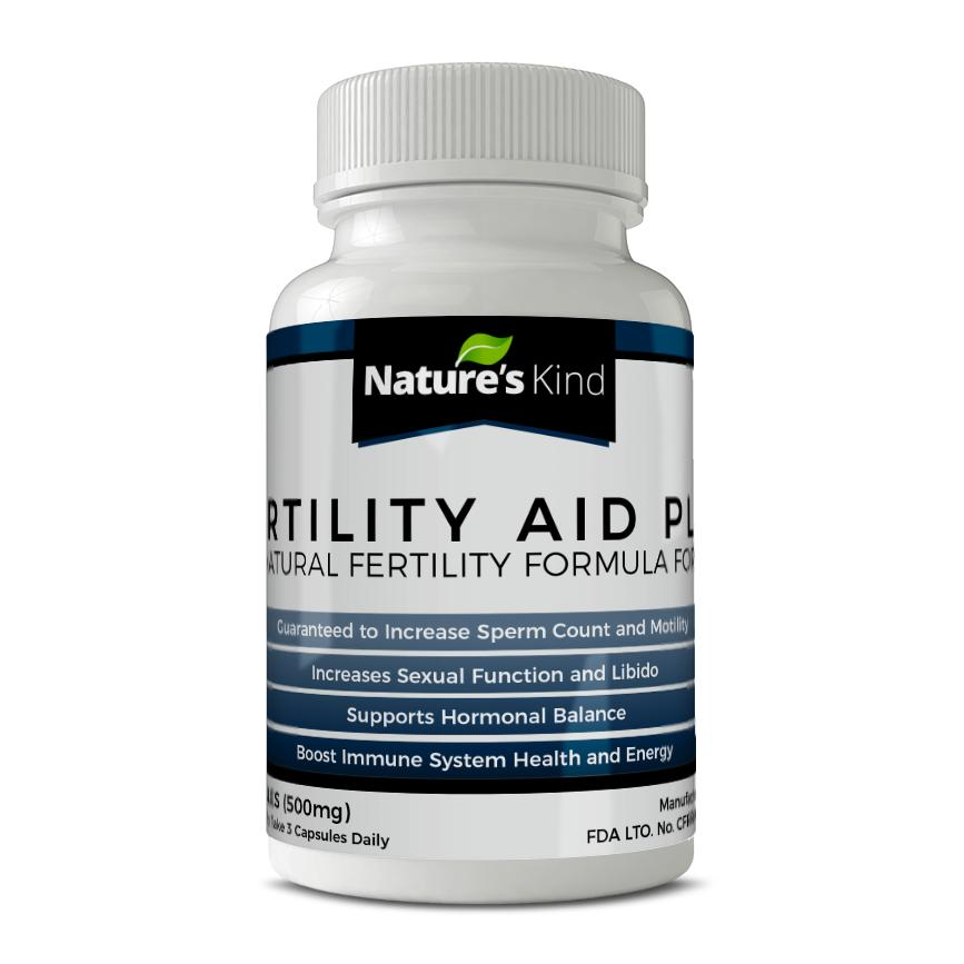 fertility aid plus guaranteed to increase sperm count and