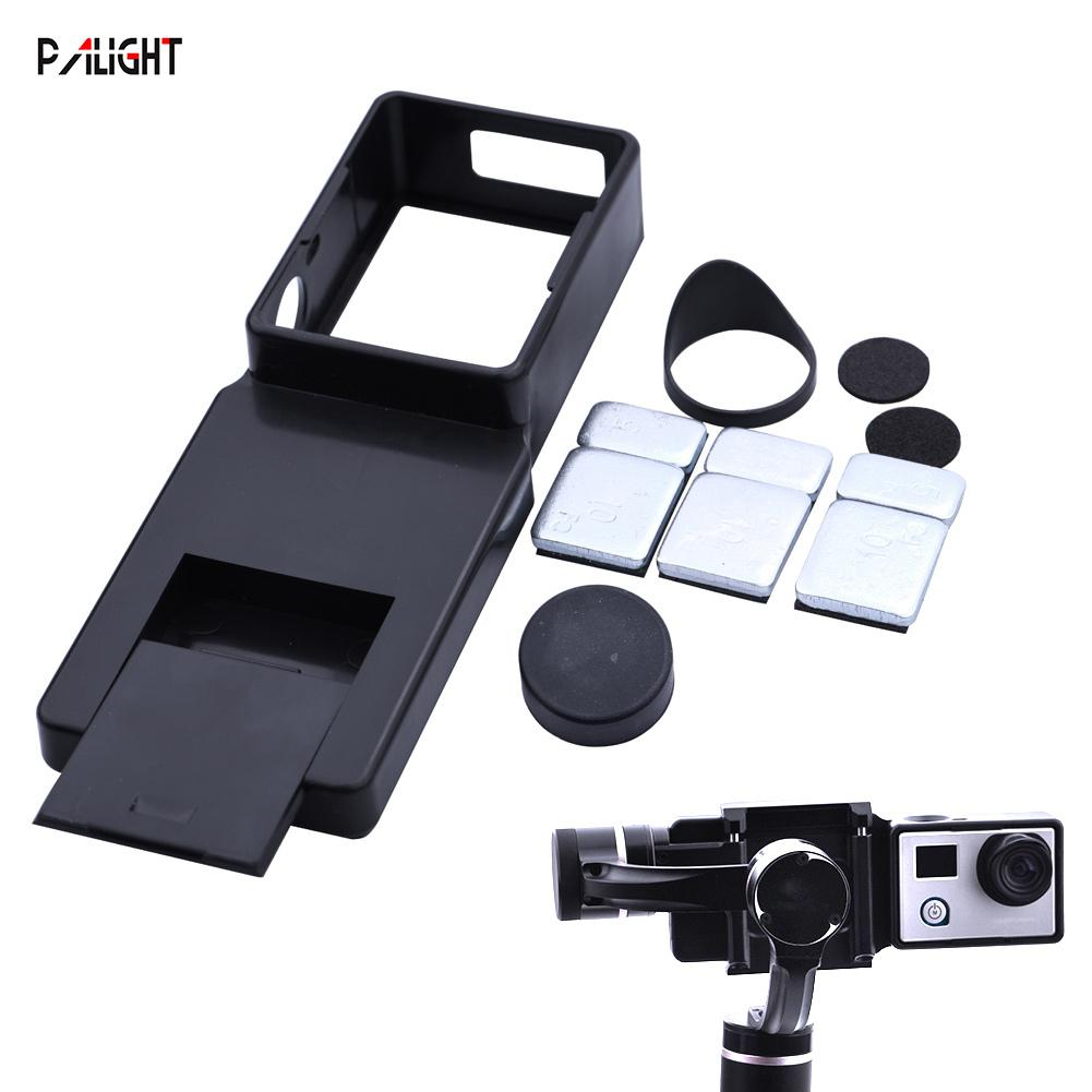 PAlight Adapter Switch Mount Plate for DJI OSMO Mobile Handheld Gimbal for Gopro Hero 4 3+ 3
