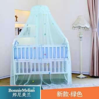 Bangni มุ้งผู้ดีเตียงนอนเด็กลงจอดสามารถพับได้เด็ก-