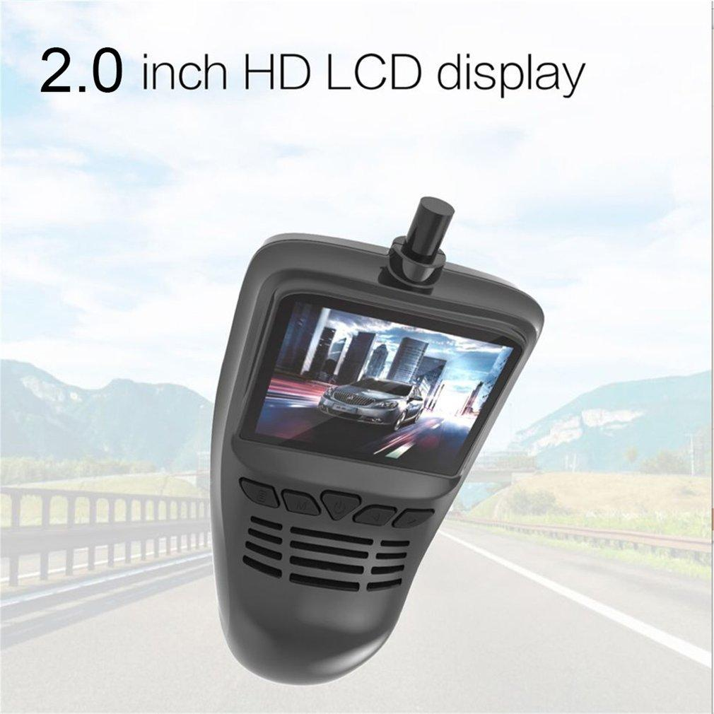 BELLE Small Eye Dash Cam Car DVR Recorder Camera with Wifi Full HD 1080p Video black