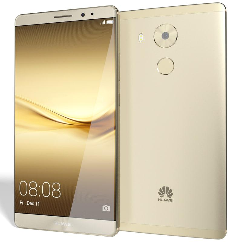 HUAWEI Mate 8 6.0 inch Dual Sim 4G+64G 8.0MP + 16.0MP Cam Champagne Gold With Free Awei A920bl Bluetooth Earphone