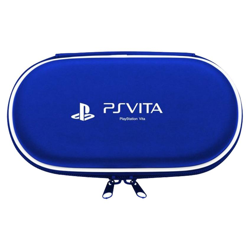 Protective Hard Travel Pouch Bag Case for PS Vita Slim and Phat (Blue)