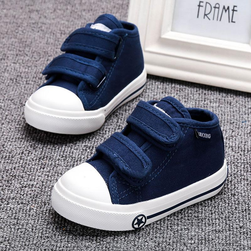 33fadaee795 Baby Toddler Shoes Soft Bottom 1-2-3-Year-Old Small Children s Shoes Men  And Women Baby Shoes Spring And Autumn Kindergarten Canvas Shoe