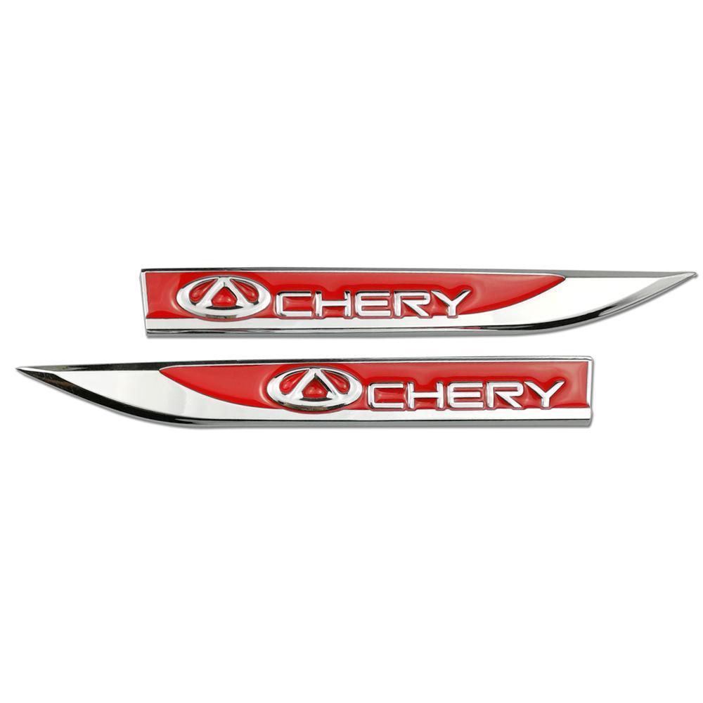 Aksesori Luar Otomotif Bemper Mobil Stickerfor Chery Tiggo 2 3 5 T11 QQ A1 A3 A5 Jimat A13 M11 Fora FULWIN Lencana Emblem Decal