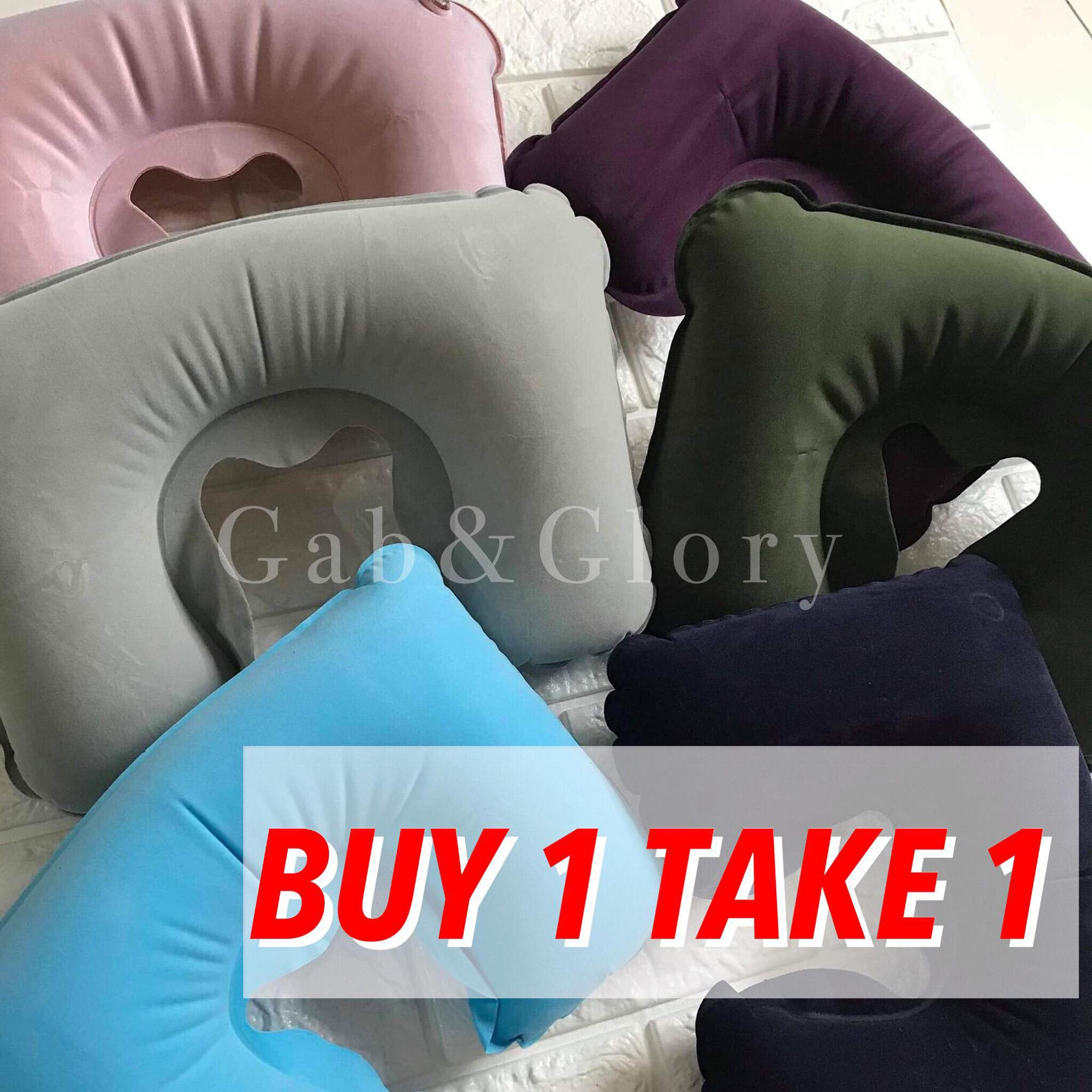 Buy 1 Take 1 Inflatable U Shaped Pillow Air Cushion Travel Neck Pillow