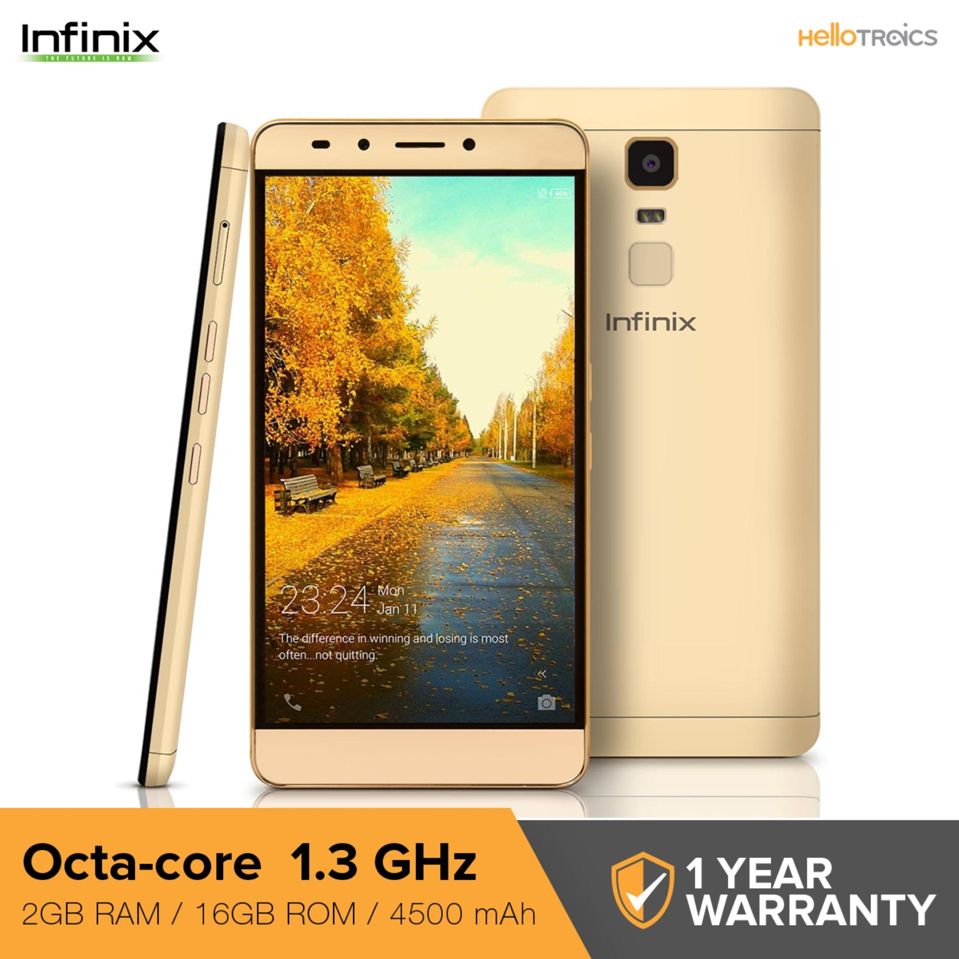 Infinix Note 3 2GB RAM 16GB ROM (Champagne Gold)