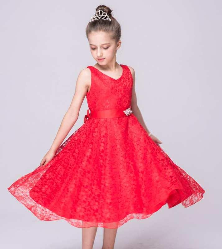Pakaian Anak Perempuan Gaun Pesta Anak Perempuan Upacara Ulangtahun
