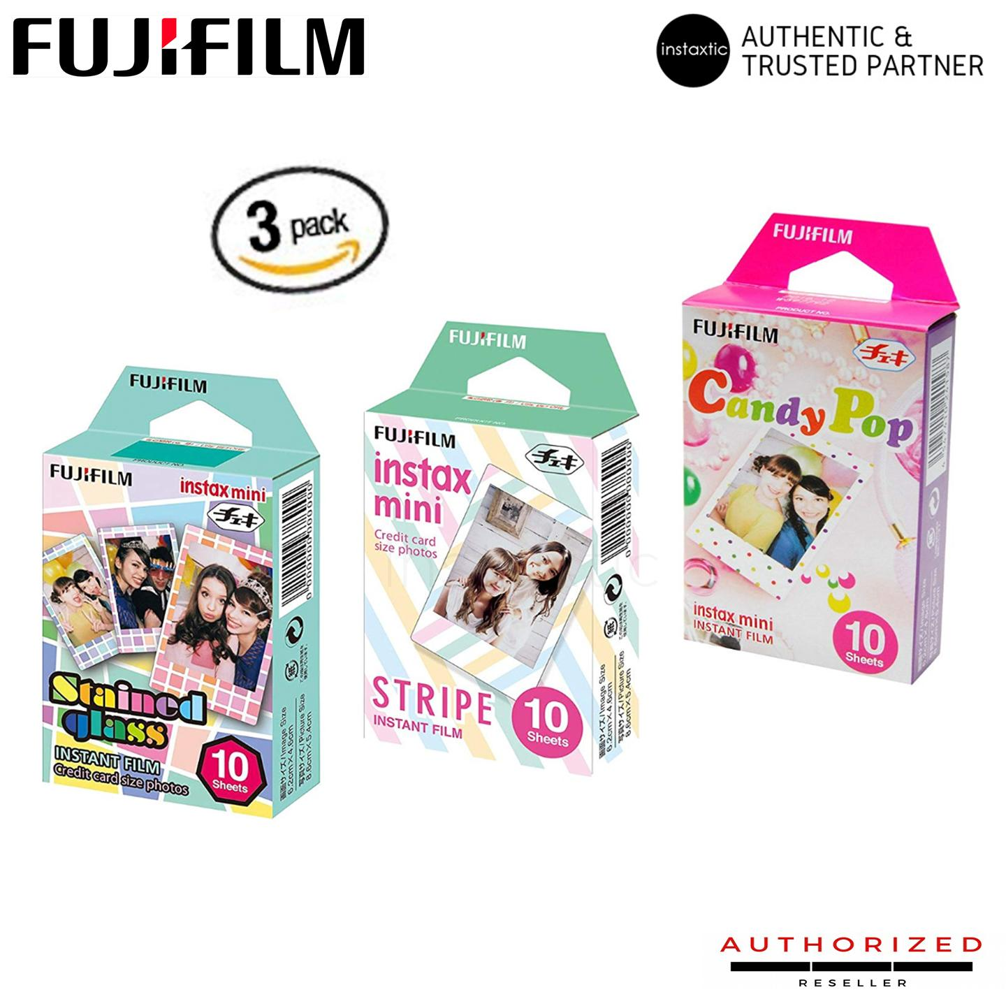 Fujifilm Instax Mini Design Film Bundle