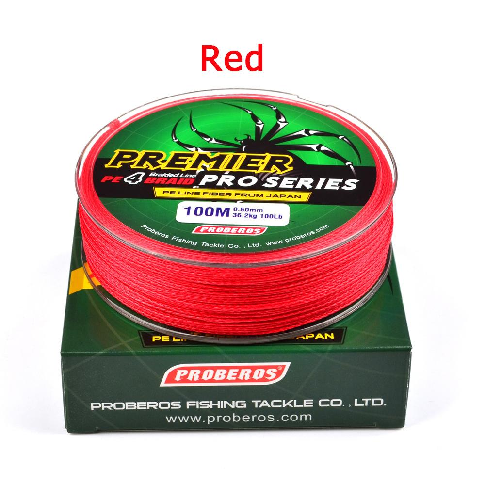 100M Super Strong Braided Wire Fishing Line PE Material Multifilament Carp Fishing Rope Line