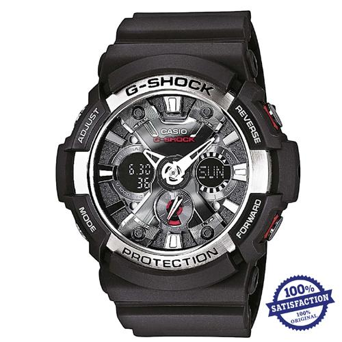 Casio G-Shock GA-200-1A Analog-Digital Men's Watch / GA-200-1ADR