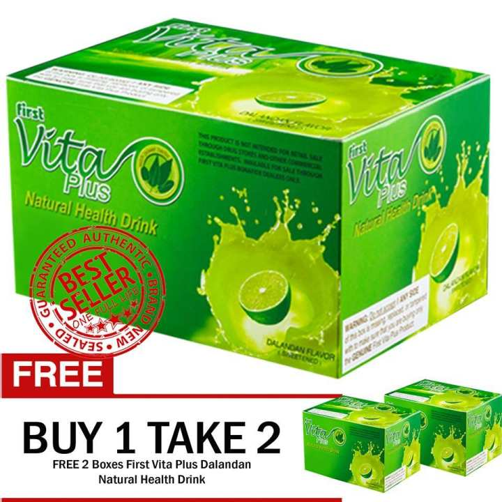 First Vita Plus DALANDAN Flavor BUY 1 TAKE 2 100% Authentic, Brand New, Sealed