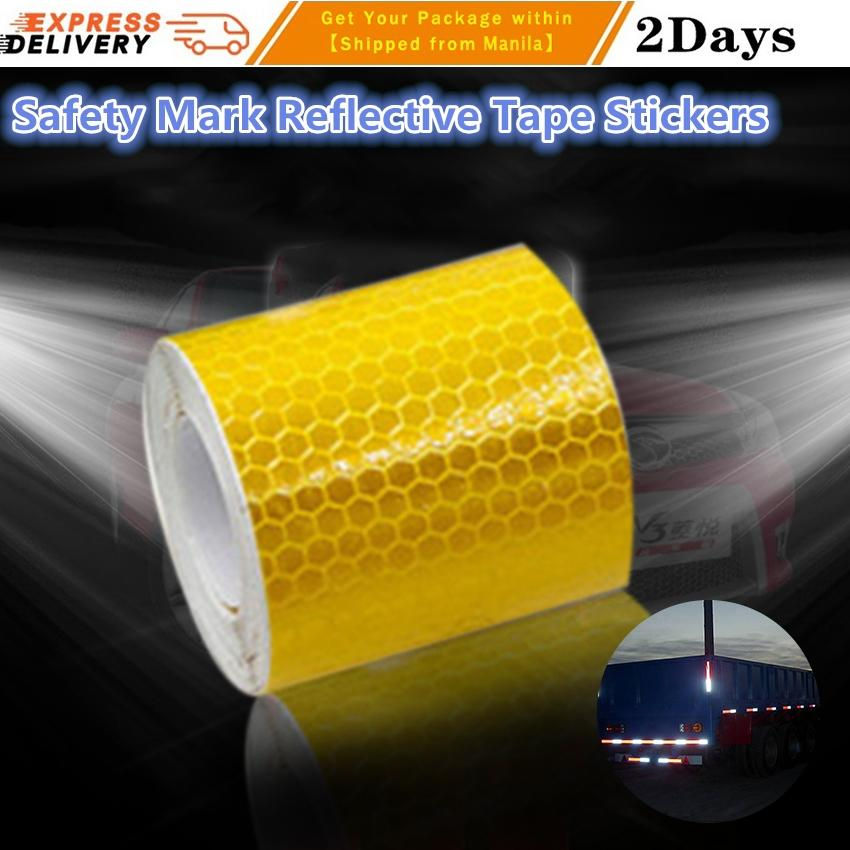 Back To Search Resultssecurity & Protection Safety Mark Reflective Tape Stickers For Bicycles Frames Motorcycle Self Adhesive Film Warning Tape Reflective Film