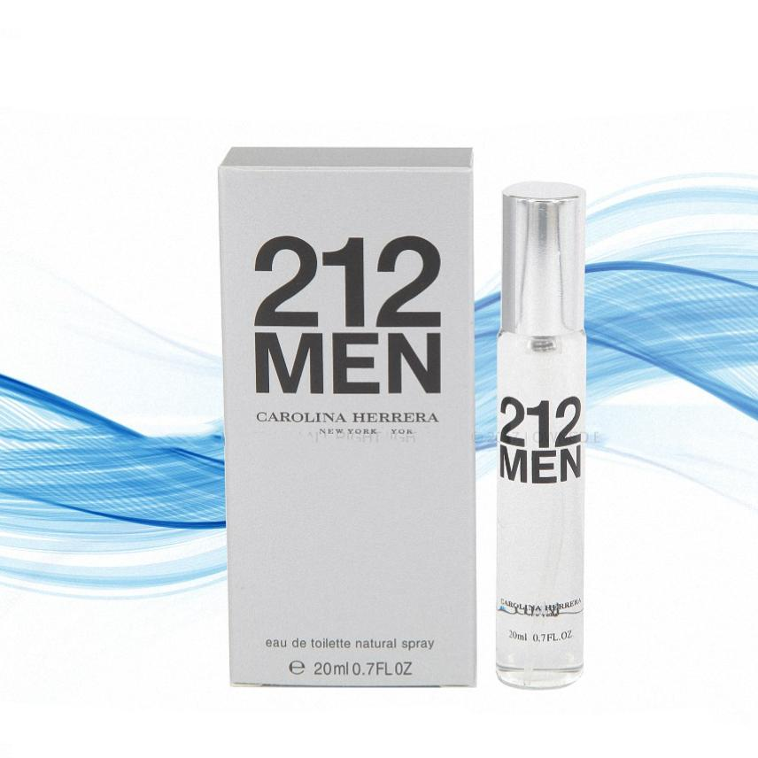 20ml - Travel Size 212 MEN  CAROLINA  HERRERA FOR MEN