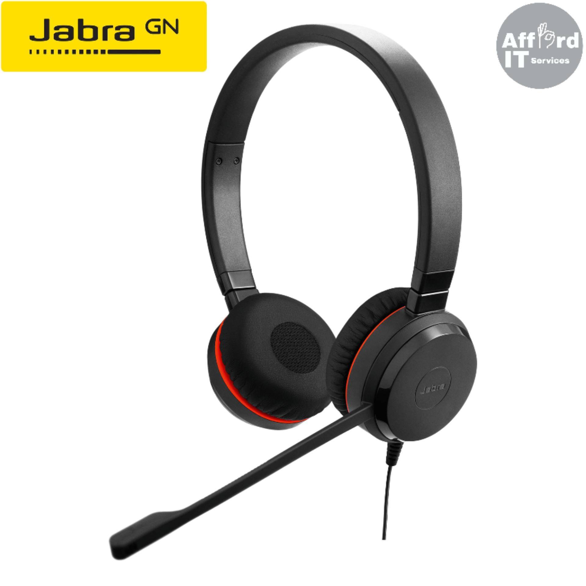 Jabra Evolve 30 Ii Ms Stereo Usb And 3 5mm Smart Phone Connectivity Lazada Ph