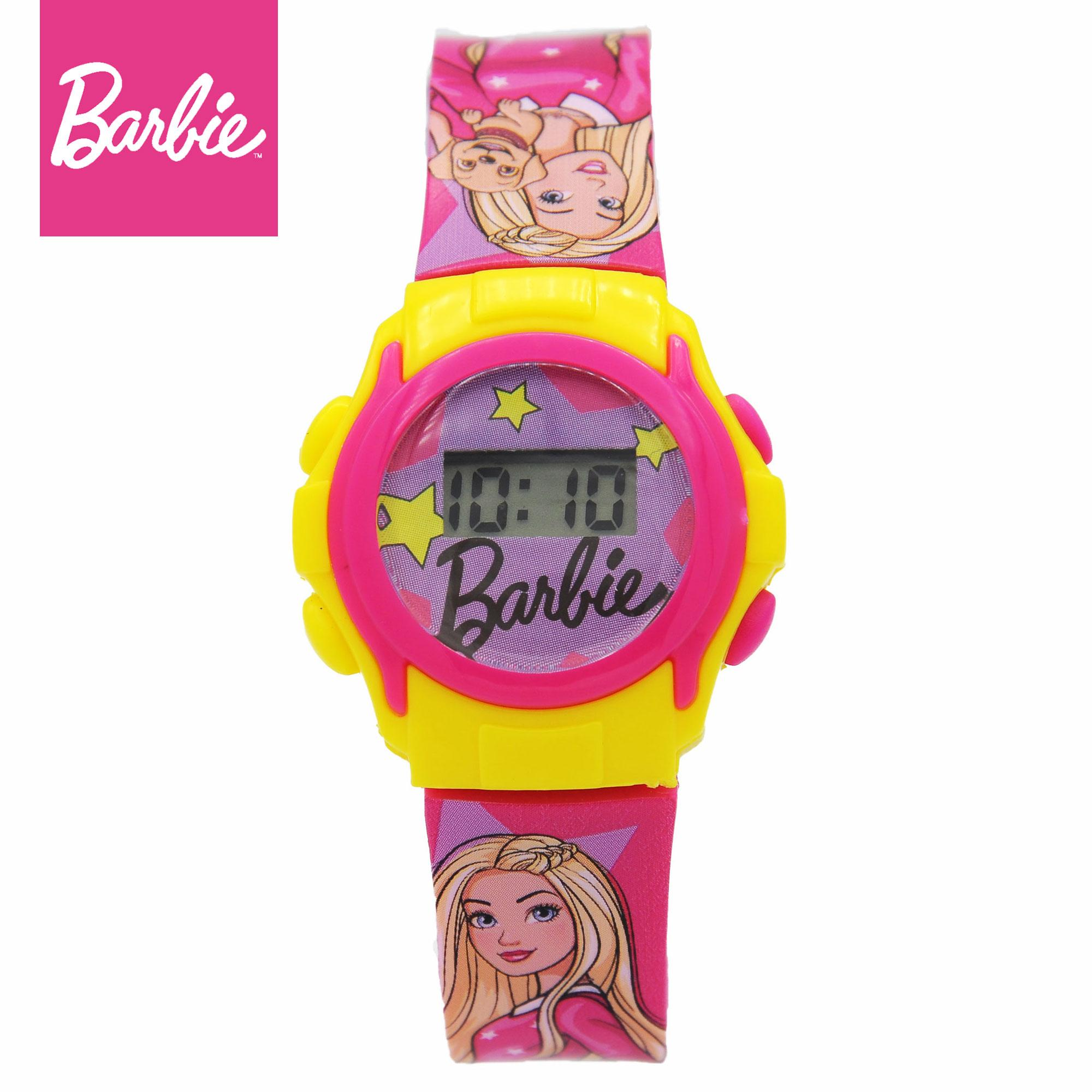 Barbie Girls Plastic Strap Digital Watch ND01 (Toy Series)
