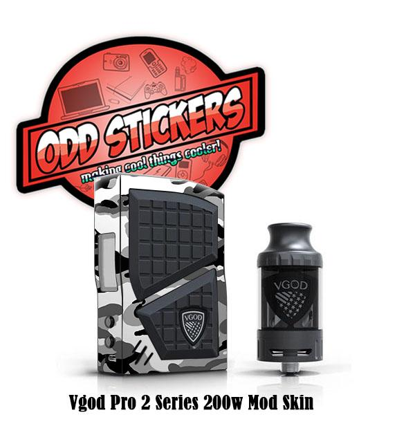 Oddstickers Camo Skin for Vgod Pro 2 Series 200w