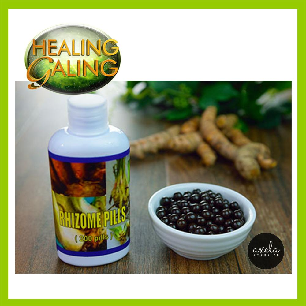 Healing Galing RHIZOME PILLS 1 Bottle (200 Pills) Herbal Supplement